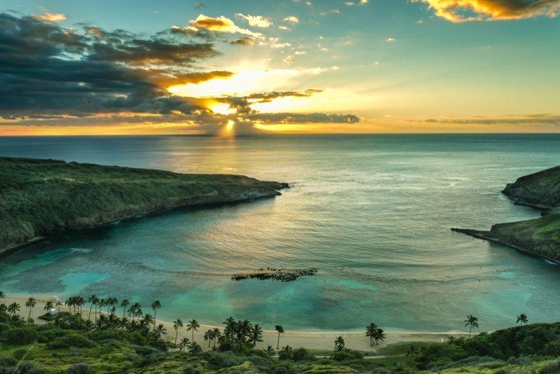 Hanuama Bay Sunrise