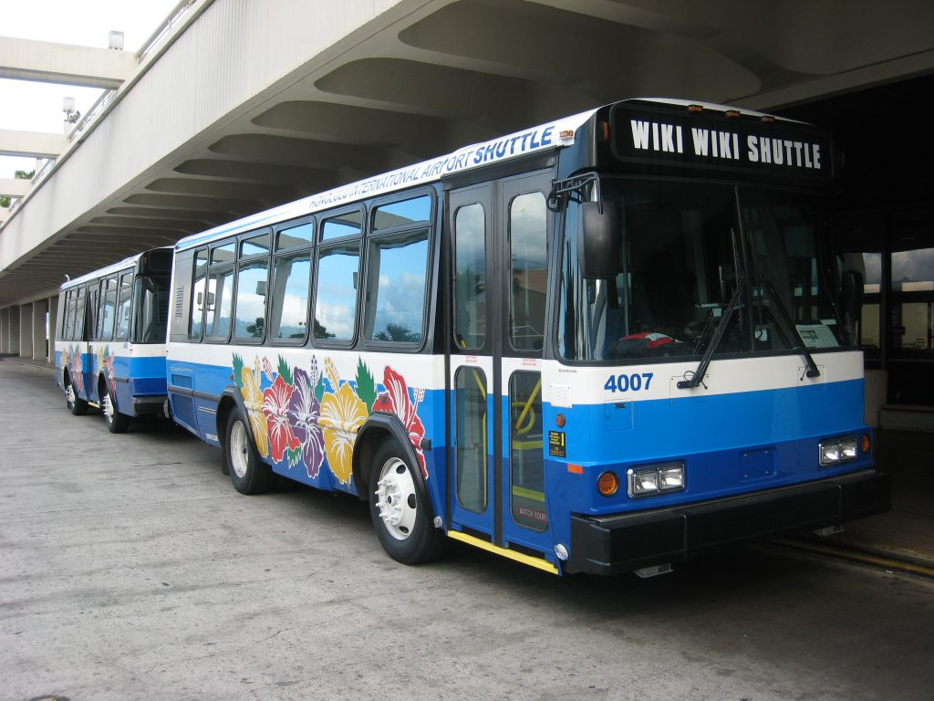 Honolulu Airport Wiki Wiki Shuttle