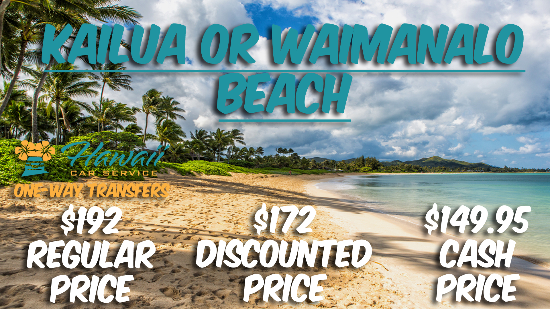 Kailua Or Waimanalo Transportation Service