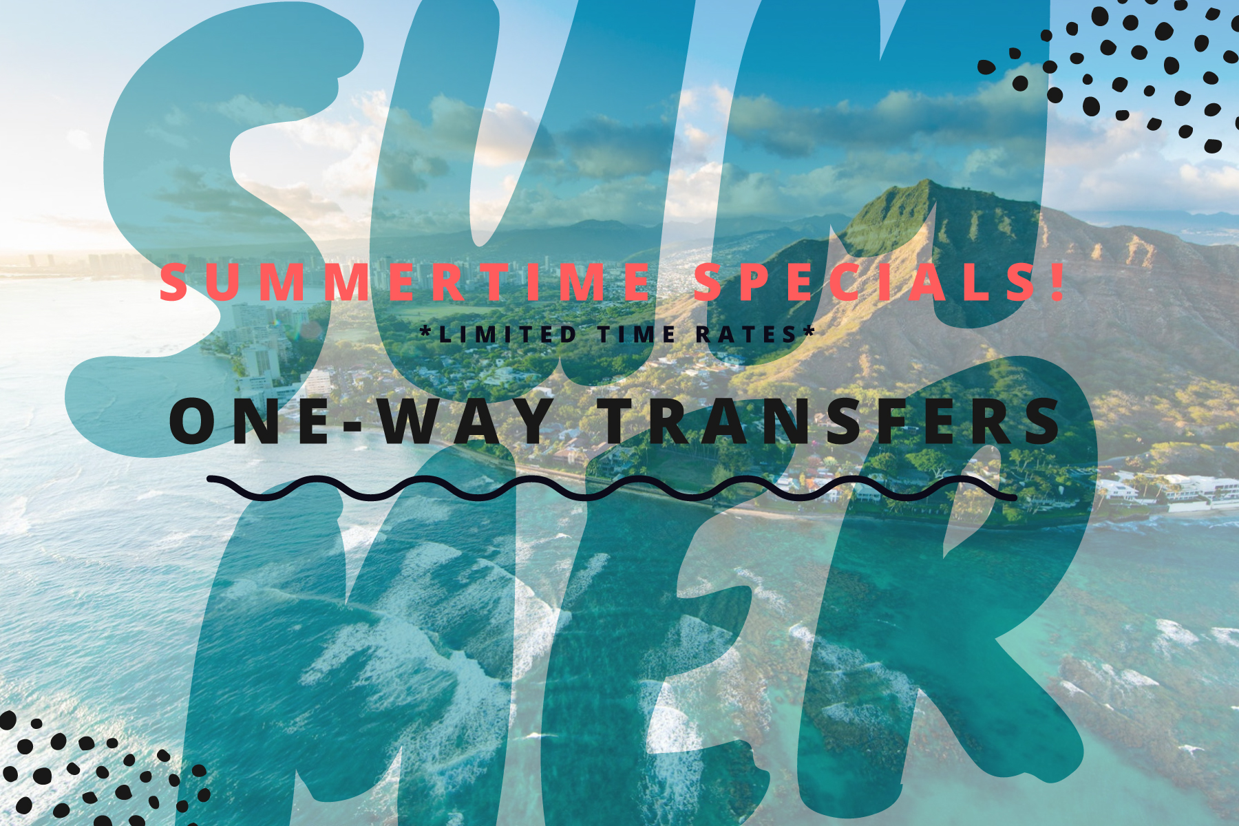 One Way Transfers Oahu